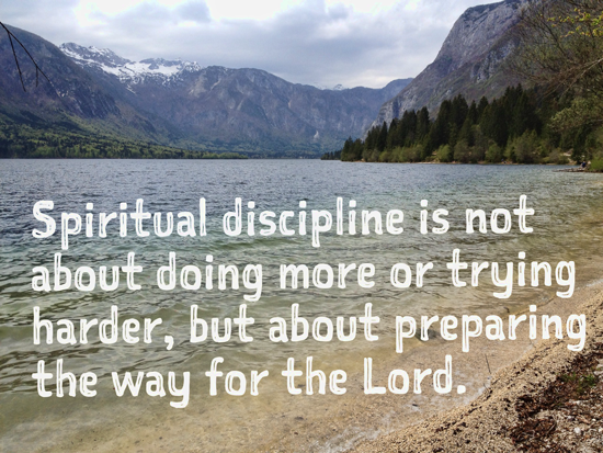 Discipline is not